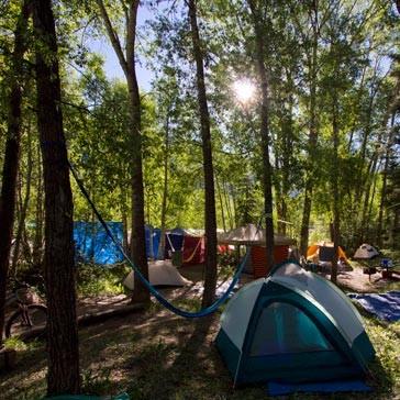 Town Park tents