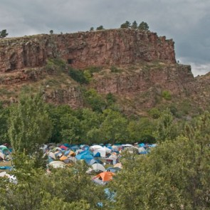 Meadow Park campground in Lyons