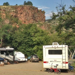 RVs at Meadow Park in Lyons