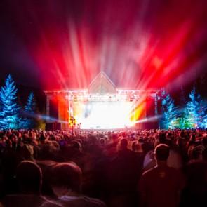 Planet Bluegrass stage