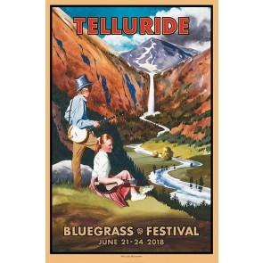 2018 Telluride Bluegrass Festival Poster