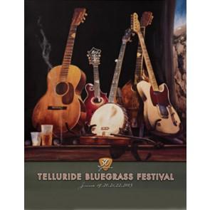 2003 Telluride Bluegrass Festival Poster