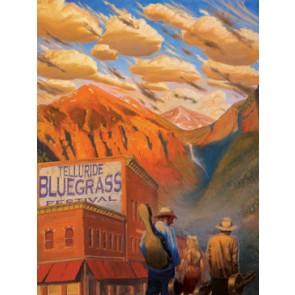 2009 Telluride Bluegrass Festival Poster