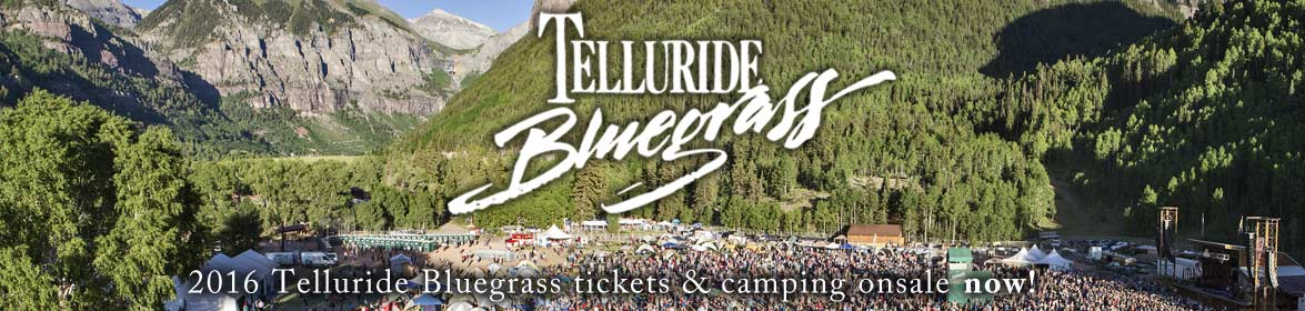 2016 Telluride tix onsale Friday, December 4 at 9am MST