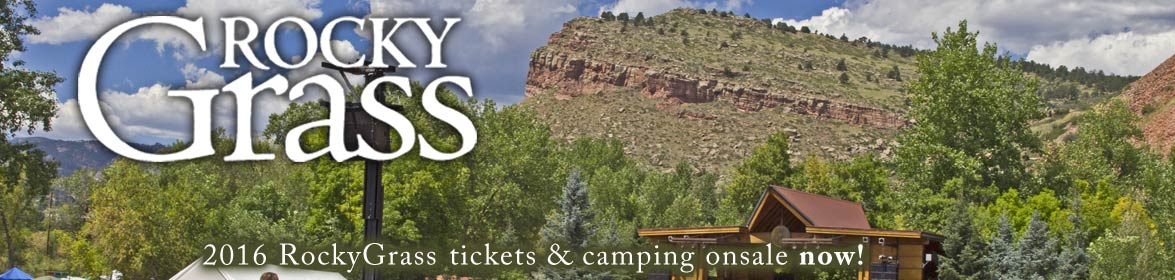 2016 RockyGrass tickets onsale December 2 at 9am MST