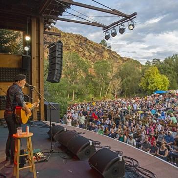 Folks Festival stage