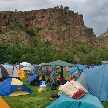 Meadow Park tents