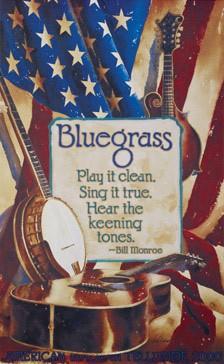 2000 Telluride Bluegrass Festival Poster