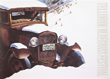 2004 Telluride Bluegrass Festival Poster
