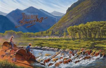 2010 Telluride Bluegrass Festival Poster
