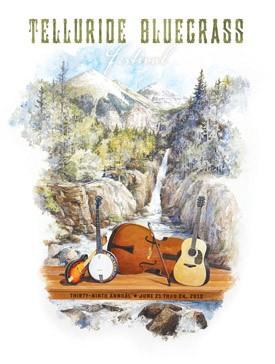 2012 Telluride Bluegrass Festival Poster