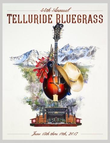 2017 Telluride Bluegrass Festival Poster