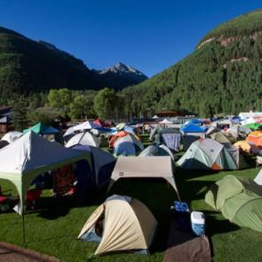 Warner Field tents