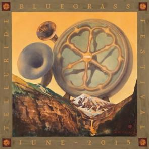 2015 Telluride Bluegrass Festival poster
