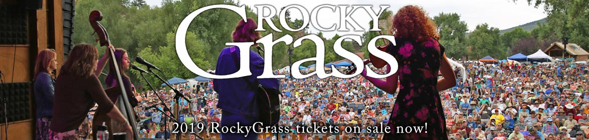 2019 RockyGrass tickets on sale now